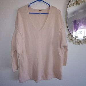 Free People over sized sweater s/p